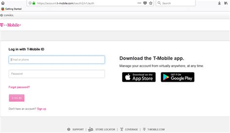 t mobile login in signinsupport net login help account setup and company