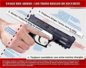 USAGE DES ARMES LES 3 REGLES DE SECURITE VIDEOS De