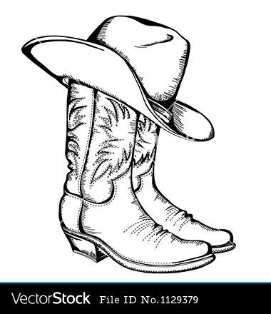 cowboy boot template printable cowboy boot pattern woodworking projects plans