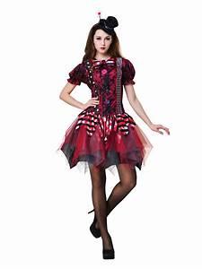 Adult Horror Clown Costume - AC085 - Fancy Dress Ball