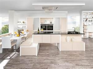 Küche T Form : kuche integrierter esstisch ~ Michelbontemps.com Haus und Dekorationen