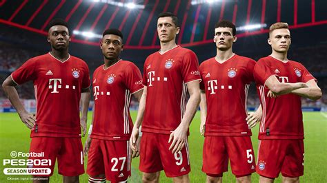 fc bayern muenchen konami partner clubs pes efootball