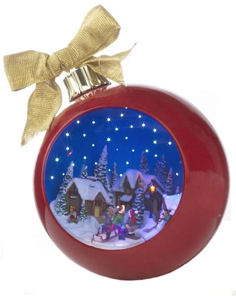 musical christmas ornaments that play music fiberoptic musical ornament with ornament family