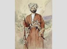Study of an Afghan Warrior, Tehran, 1848 Jules Joseph