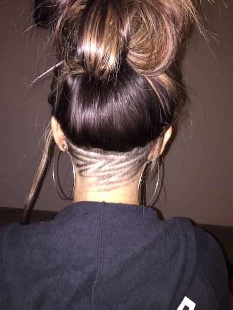 undercut design hair