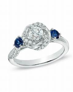 vera wang love collection 5 8 ct tw diamond and blue With vera wedding rings
