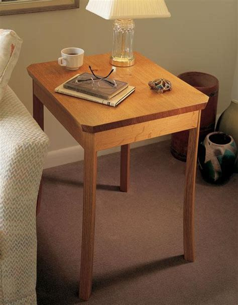 Curved Nightstand by Curved Leg Nightstand Project Popular