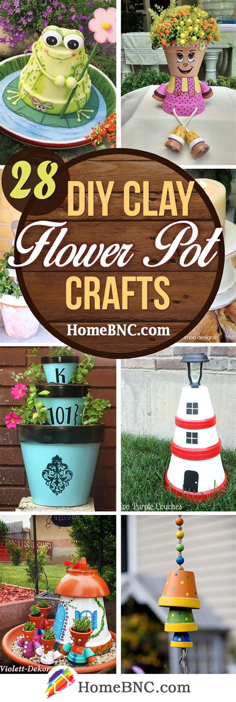 28 Best Diy Clay Flower Pot Crafts (ideas And Designs) For 2018