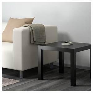 Ikea Table Appoint : lack table d 39 appoint noir 55 x 55 cm ikea ~ Teatrodelosmanantiales.com Idées de Décoration