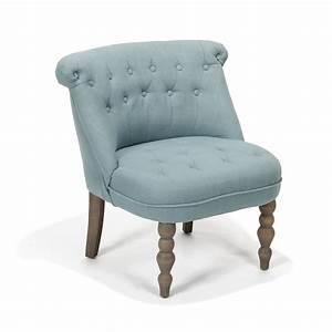 Fauteuil Jaune Alinea : chanteloup fauteuil cosy style crapaud bleu alin a pouf et pouf salon ~ Teatrodelosmanantiales.com Idées de Décoration