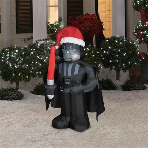 star wars inflatable christmas lawn decorations craziest