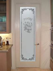 Etched glass panels and decorative panel door pantry for Kitchen colors with white cabinets with etched glass wall art