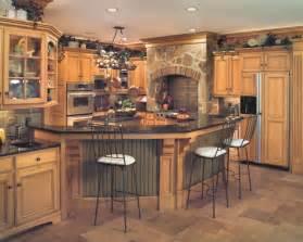 tuscan style birch kitchen traditional kitchen - Tuscan Kitchen Design Ideas