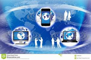 Global Technology Equipment Stock Illustration ...
