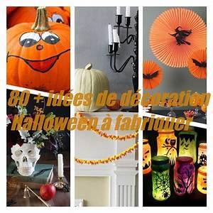 Deco Halloween A Fabriquer : d coration halloween fabriquer en plus de 80 id es diy ~ Melissatoandfro.com Idées de Décoration
