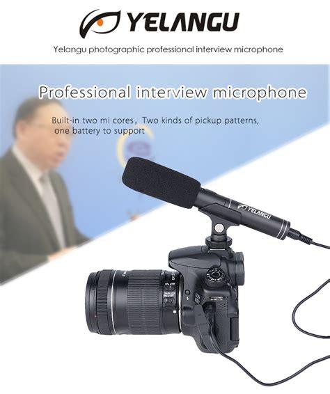 Videocamera Ingresso Microfono by Professionale Microfono Fotografia Colloquio Mic Per