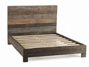 best 25 rustic wood bed ideas on pinterest rustic wood With barn wood king bed frame