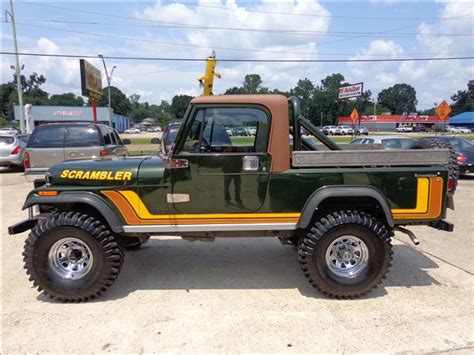 jeep scrambler pickup  feature long frame turbodiesel  option removable top