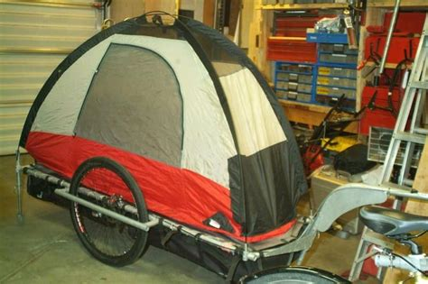 Bike Trailer Tent Camper