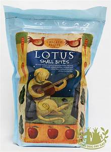 lotus chicken small bite dog food With lotus dry dog food