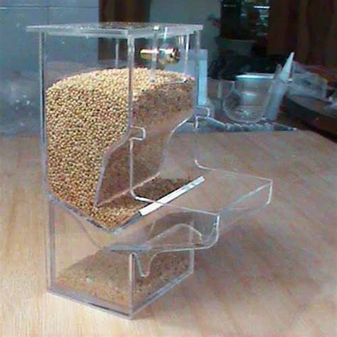 tidy seed no mess bird feeder parrot food feeding bowl