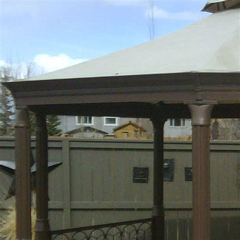 costco octagon gazebo canopy replacement garden winds canada