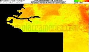 Highest Elevation Florida Map