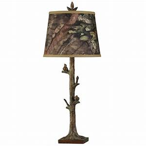 mossy oak camo decor mossy oak birds on a branch table With camo floor lamp