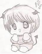 cute chibi baby by Doc...