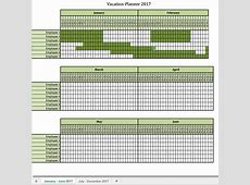 Vacation Planner Template Excel printable planner template