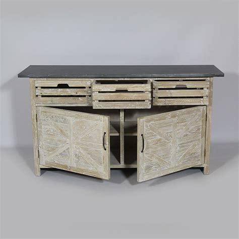 meuble cuisine bois et zinc meuble cuisine en bois meuble cuisine bois industriel