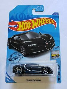 Which modern electric car will be the first classic? HOT WHEELS '16 BUGATTI CHIRON BLACK EXOTICS   eBay
