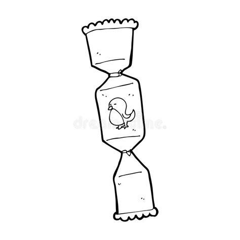 cartoon christmas cracker stock illustration image of