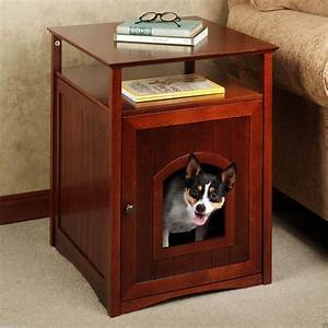 beautiful and super original wooden dog crate matt and With dog crate end table with drawer