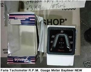 Faria Tachometer Gauge 0