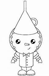 Oz Tin Wizard Colorear Mago Coloring Pages Clipart Moldes Hombre Magico Feltro Latas Hojalata Dibujos sketch template