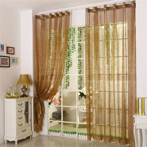 beautiful sheer curtains design in chic modern
