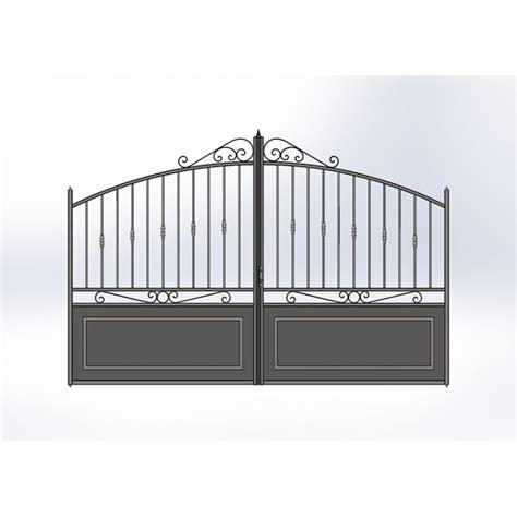 portail cloture fer et portail fer avec portail coulissant et portail battant portail en fer