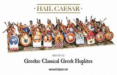 Greek Classical Phalanx Greeks 28mm Hoplites Warlord