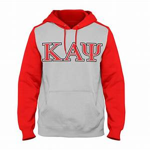 kappa alpha psi raglan hoodie letters greek apparel With cheap greek letter apparel