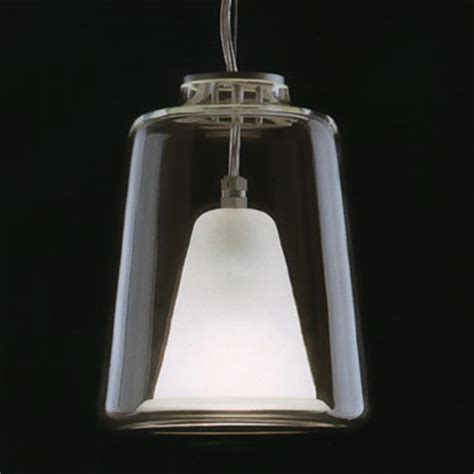 Lanterna Large Oluce Italian Glass Pendant Lamp: NOVA68.com