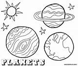 Planet Coloring Planets Stars Coloringway Sky sketch template
