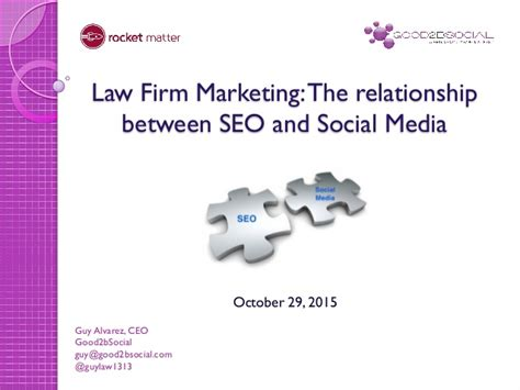 Marketing And Seo Firm by Firm Marketing The Relationship Between Seo And