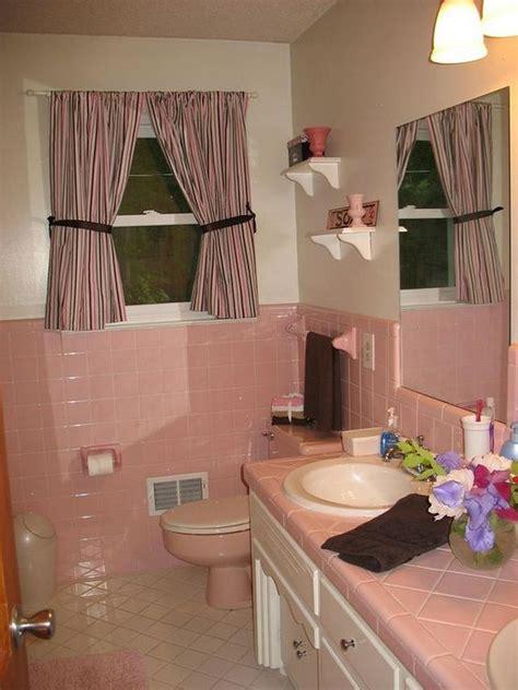 pink  brown perfect combination  bathroom designs