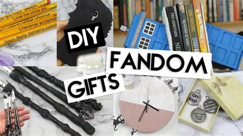DIY (Last Minute) Fandom Gifts! - YouTube