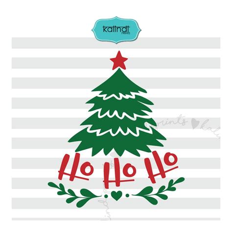 Download for the svg file. Christmas Tree SVG, Ho Ho Ho SVG, Christmas SVG, Christmas ...