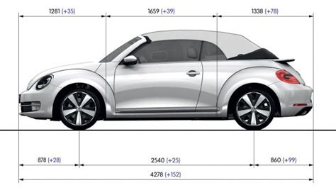 vw beetle technische daten vw beetle cabrio 2013 abmessungen technische daten