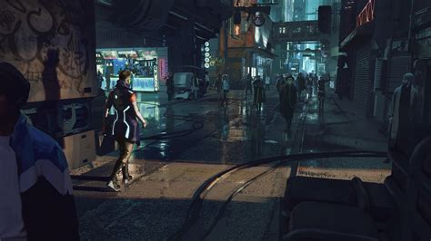cyberpunk city wallpapers hd desktop  mobile backgrounds