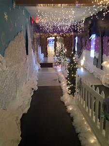 Hallway, Going, To, The, Book, Fair, And, Santa, Pictures