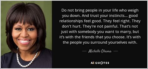 michelle obama quote   bring people   life